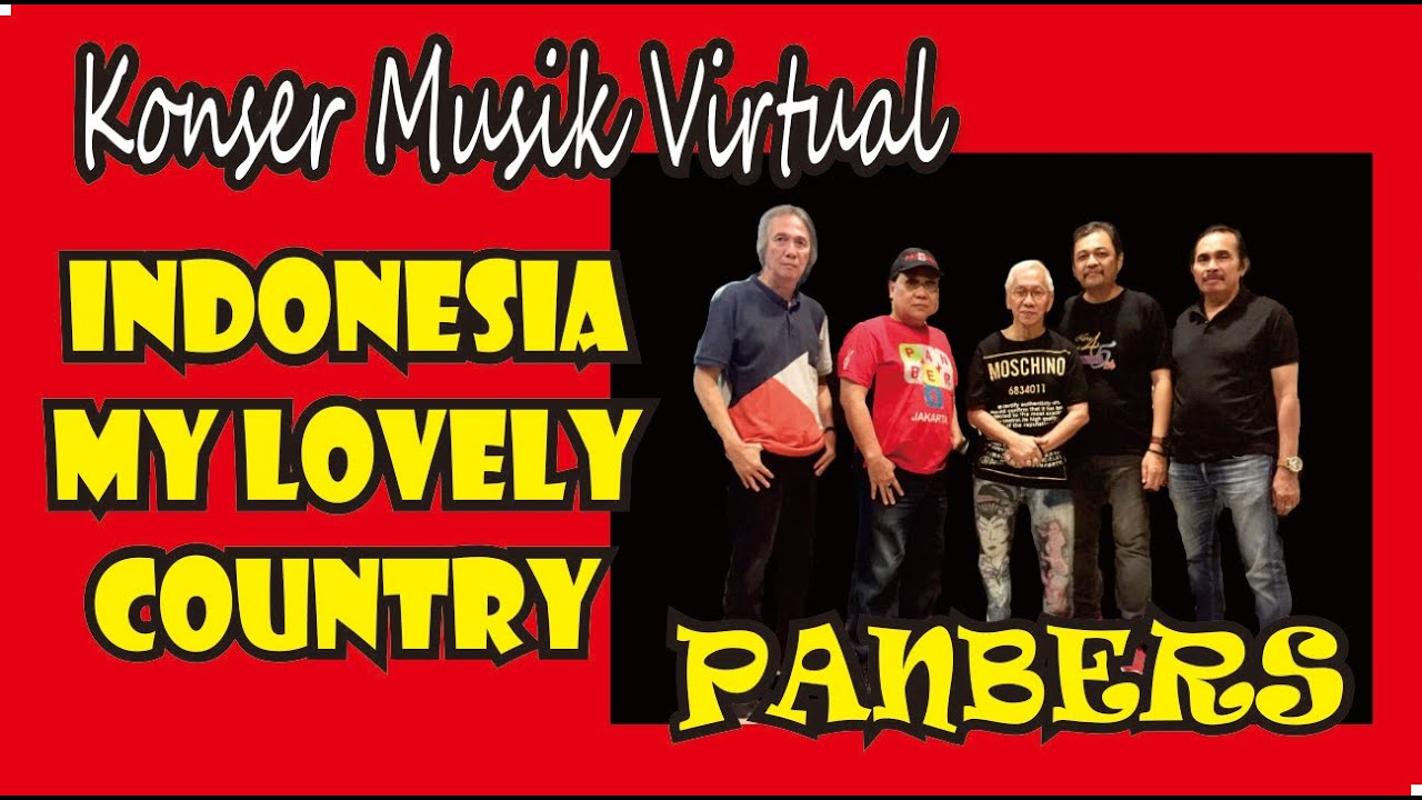 Indonesia My Lovely Country, Konser Musik Virtual Panbers, 1 Agustus 2020