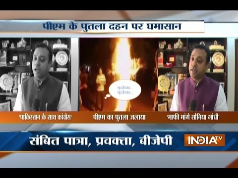 BJP Demands Sonia Gandhi's Apology Over Burning PM Modi's Effigy By NSUI