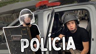 VIVENDO UM DIA COMO UM POLICIAL DE VERDADE!!!