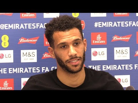 Etienne Capoue Full Pre-Match Press Conference - Man City v Watford - FA Cup Final