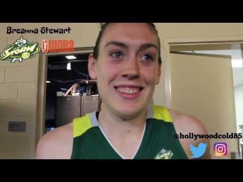 Breanna Stewart talks WNBA in NBA LIVE 18,