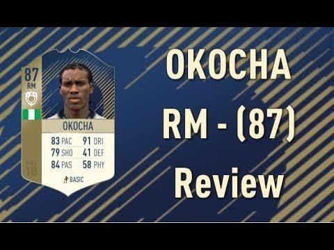 FIFA 18 - Jay-Jay Okocha (87) - Icon Review