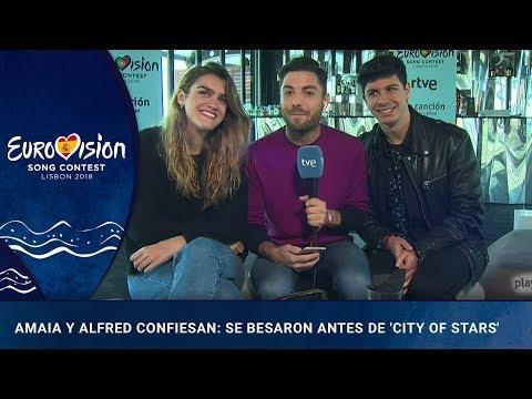 Amaia y Alfred confiesan que se besaron antes de 'City of stars' | OTVision