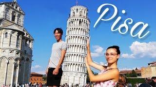 국제커플 이태리 피사 여행 |AMWF couple dating in Pisa, Italy Video