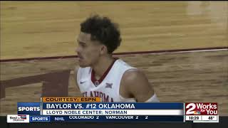 Trae Young scores 31 of 44 points in 2nd half as Sooners hold off Baylor, 98-96