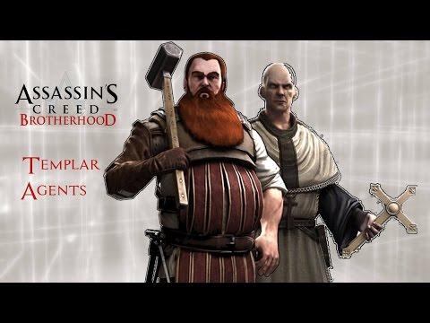 Assassin's Creed: Brotherhood - Templar Agents 100% Sync Walkthrough  