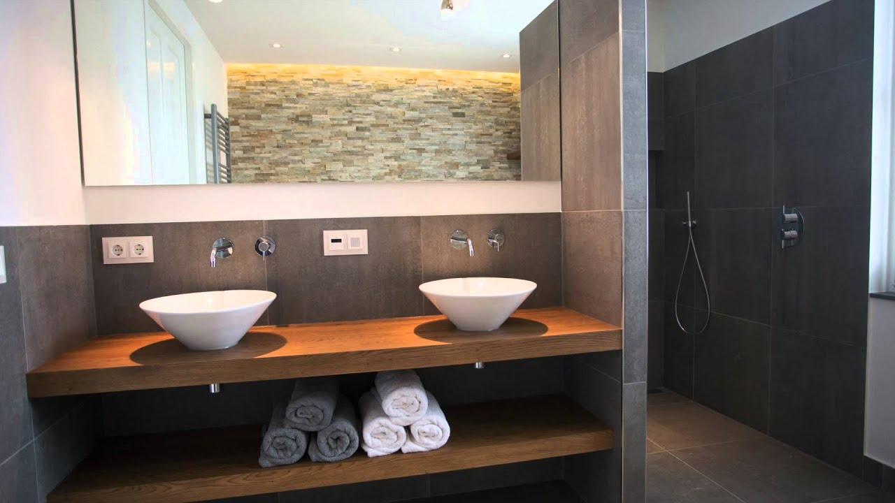 Luxe badkamers van de eerste kamer youtube - Badkamers ...