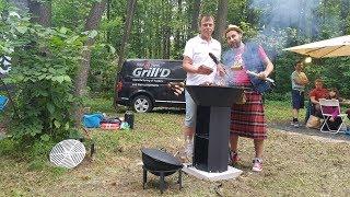 Обзор лучшего девайса, любителям жарить мяско на даче: казана, гриля, мангала Step Grill от Grill'D