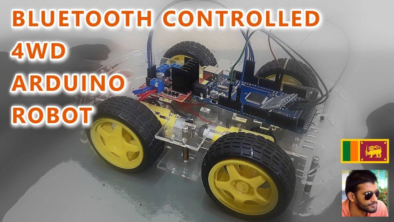 Arduino Project 2 Bluetooth Controlled 4wd Robot Car Youtube
