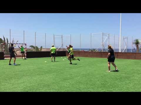 Street Handball Match, Club La Santa with Singleture