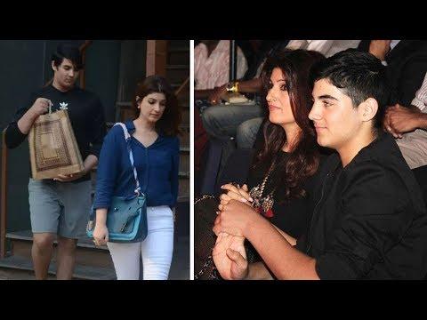 Aarav Dinner Date With Mom Twinkle Khanna In Juhu   Latest Bollywood Gossips 2018 Mp3