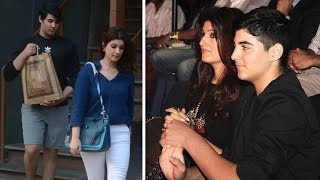 Download Aarav Dinner Date With Mom Twinkle Khanna In Juhu | Latest Bollywood Gossips 2018 Mp3 and Videos