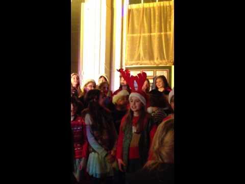 Halstow choir, christmas show 2014