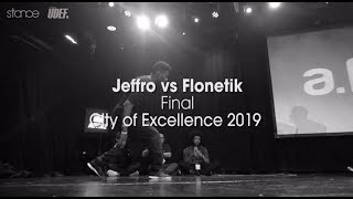 Jeffro vs Flonetik | Finał - City of Excellence 2019