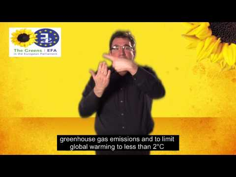 Brussels Conference On COP 19 Climate Negotiations  - 13th November 2013 - (#IS Sign Language)