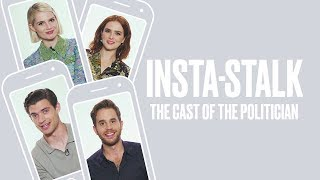 Ben Platt, Zoey Deutch, Lucy Boynton and David Corenswet Insta-Stalk 'The Politician' Cast | ELLE