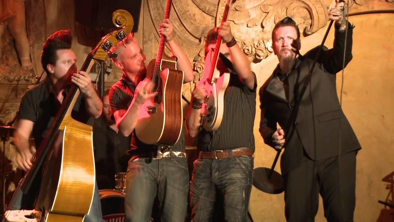 Ski-King and The Wonderbras - Folsom Prison Blues live (HQ)
