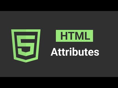 HTML ATTRIBUTES | HTML5 in 2019 Tutorial #2 thumbnail