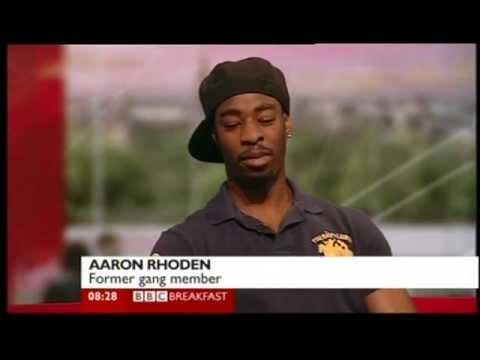Reggie Yates and Aaron Rhoden talks about 'Teen Gangs' documentary