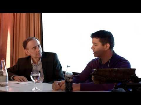 ZEIT RECEPTION Davos 2016 – Travis Kalanick, CEO von Uber, im Gespräch mit Uwe Jean Heuser