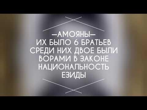 История братьев Амоян