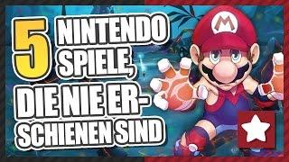 5 Nintendo Spiele, die nie erschienen sind || UNRELEASED || Gaming Physics