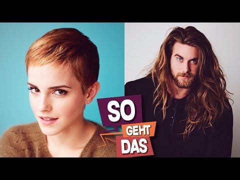 Warum haben Mädchen lange Haare und Jungs nicht?