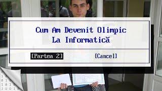 E03: كيف يمكنني أن أصبح رياضي علوم الحاسوب الجزء الثاني   يوميات أوليمبي