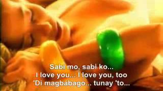 Sabi mo sabi ko i love you with lyrics