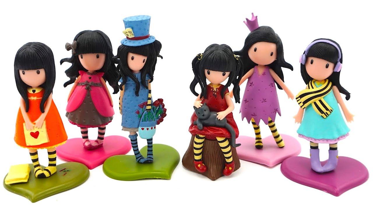 Коробка сюрпризов, собираем коллекцию кукол Gorjuss