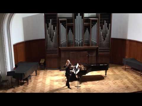 """Бетховен """"Крейцерова"""" Соната для скрипки и фортепиано ля мажор, соч. 47."""