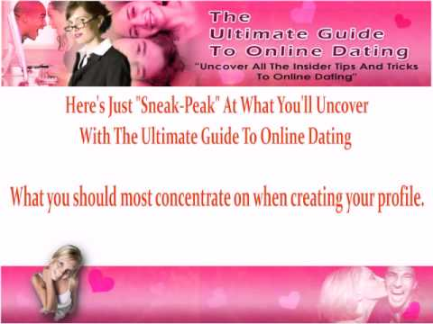 Online Dating The Ultimate Guide (Free Ebook)