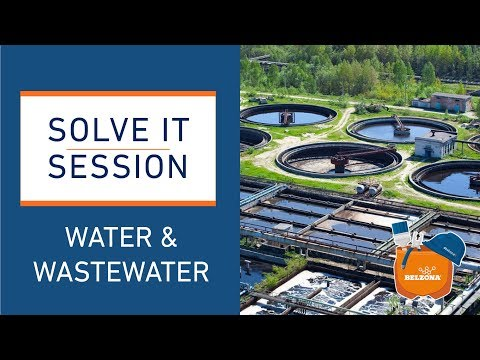 "Belzona ""Solve it Session"" - The Water and Wastewater Industries"