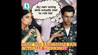 Here's What Rajkummar Rao Was Thinking During Kangana Ranaut's Spat With Journo | The Quint