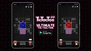 How to play Ultİmate Tic Tac Toe   Tic Tac Toe ++   RedWool Studio