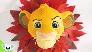SIMBA CAKE!  The Lion King Birthday Party Ideas Cake Art  Koalipops