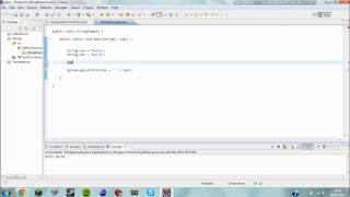 Java Tutorial 3 - Strings and Formatting