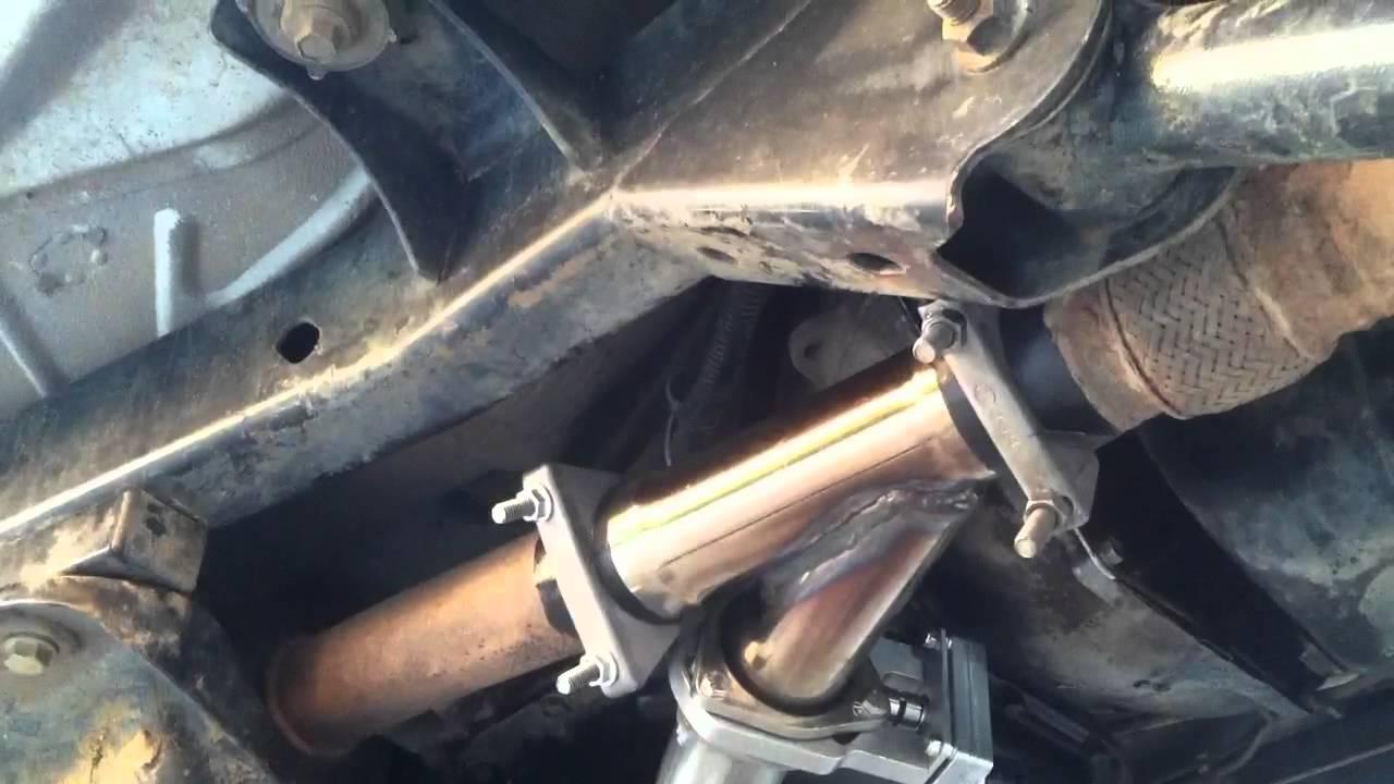 2001 Dodge Cummins >> Jeep wrangler 4.0 exhaust cutout - YouTube