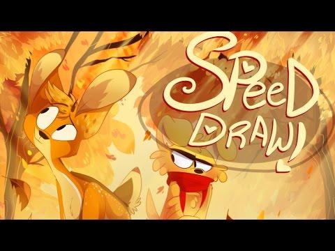SPEED DRAW- Autumn Walk (Zoophobia)- VivziePop