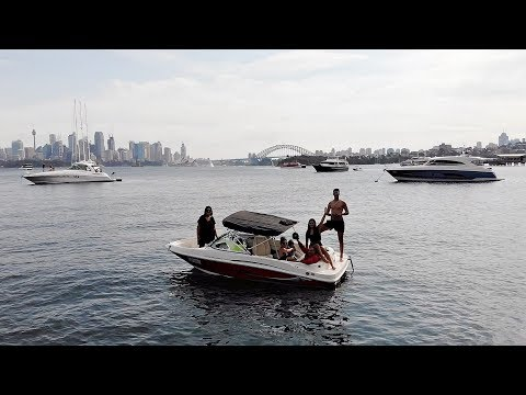 Sydney Harbour In Our New Boat