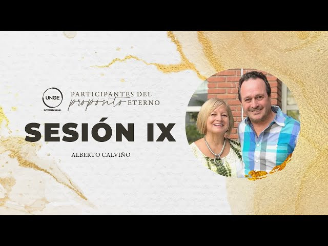 09 - Propósito Eterno, motor y combustible de la generosidad - Alberto Calviño