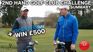 RICK Vs PETER - THE 2nd HAND GOLF CLUB CHALLENGE PLAYLIST