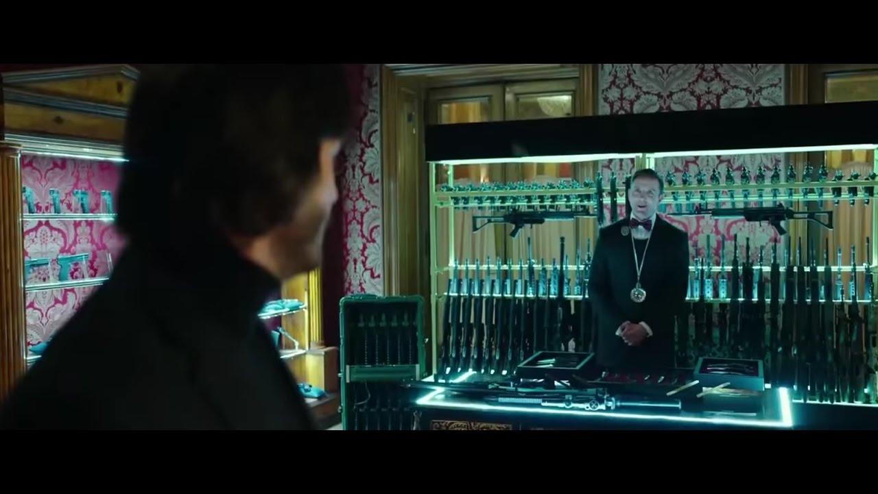 John Wick  Gun Room