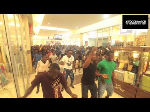 #WoodinNation Accra Mall Takeover - Flash Mob
