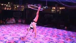 Hula Hoop Juggler at Circus Circus Las Vegas