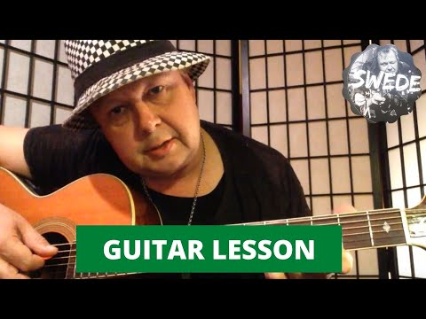 Aretha Franklin - Baby I Love You  - Funky Guitar Lesson