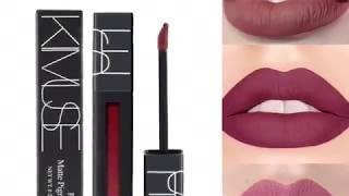 KIMUSE liquid matte lipstick ( unboxing color 01) aliexpress haul