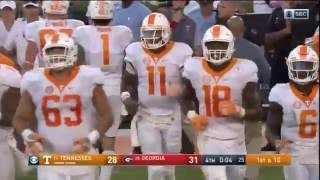 Tennessee Hail Mary vs. Georgia (2016) - CBS, Tennessee and Georgia radio call