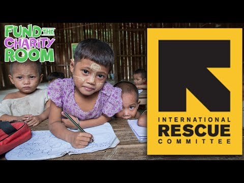 The International Rescue Committee - Who we're raising money for!