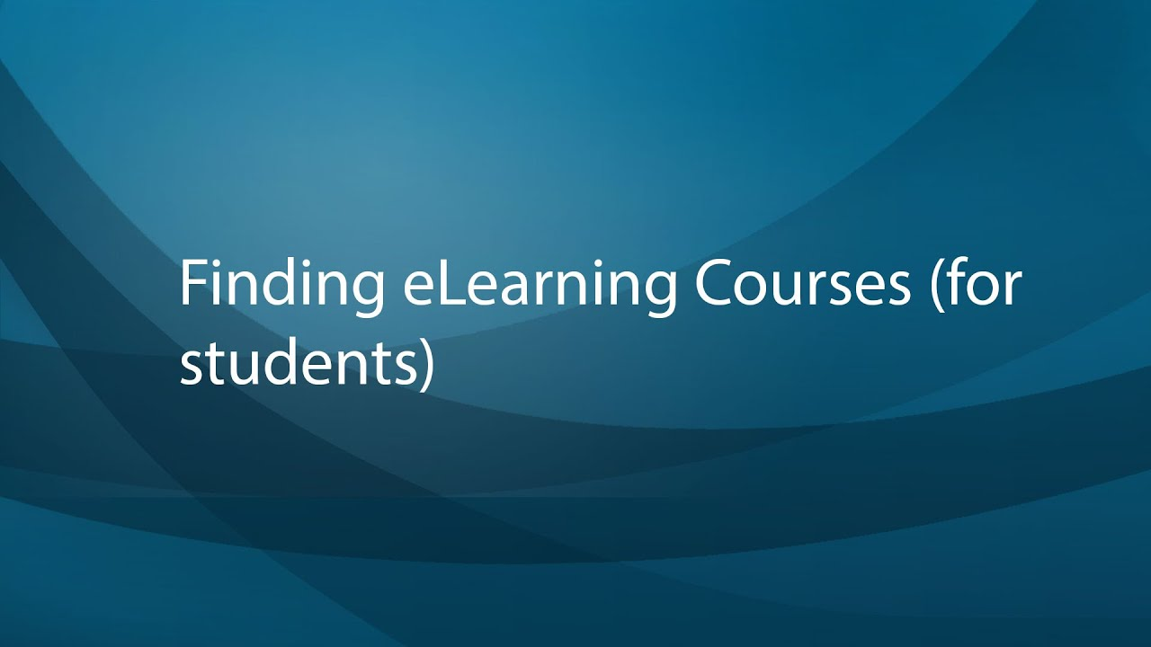 eLearning Course Search - Mount Royal University - Calgary